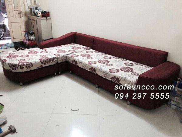 Dịch vụ may vỏ đệm ghế sofa tại Vinaco