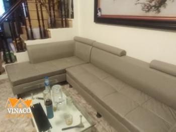 Giật  mình trước vẻ đẹp mới của bộ ghế sofa sau khi thay đổi lớp vỏ bọc
