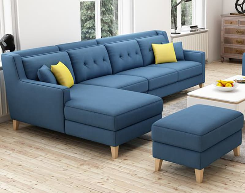 Hướng dẫn cách làm mới bộ đệm ghế gỗ phòng khách