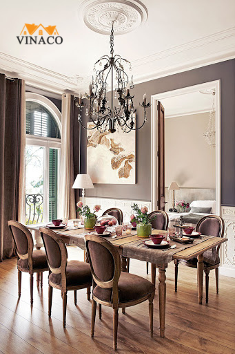 Hướng dẫn sắp xếp bàn ghế phòng ăn hợp lý nhất