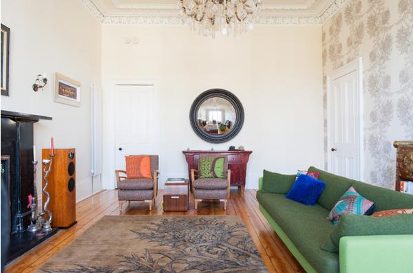 Kết hợp màu sắc sofa và phòng khách cho ngôi nhà của bạn trở nên hiện đại