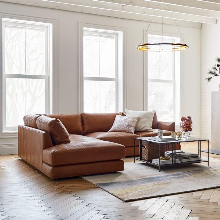 Kết hợp sofa da nâu với những gam màu hấp dẫn cho nhà của bạn