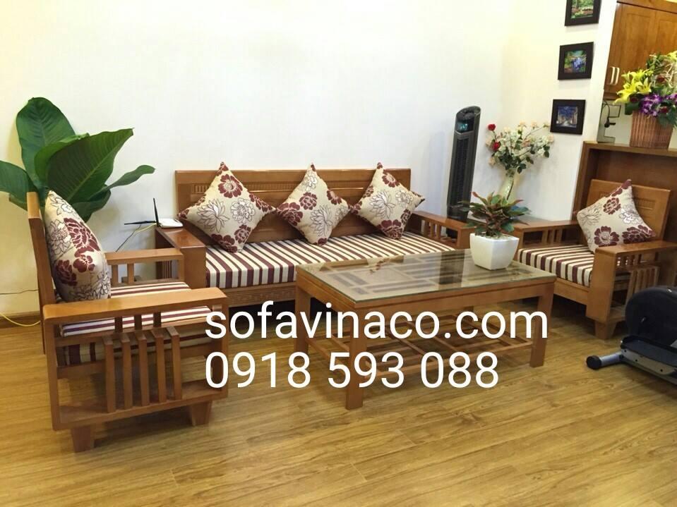 Làm đệm ghế phòng khách đẹp giá rẻ nhưng chất lượng tại VINACO