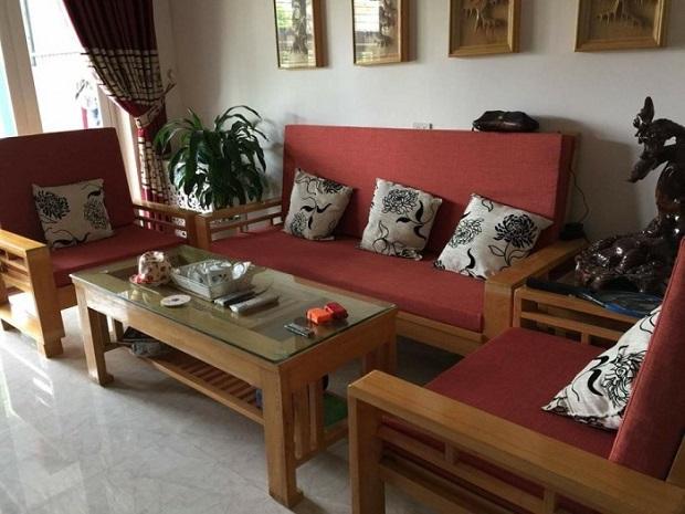 Làm đệm sofa gỗ chất lượng, giá rẻ