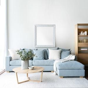 Lựa chọn cho căn phòng bạn một bộ sofa blue