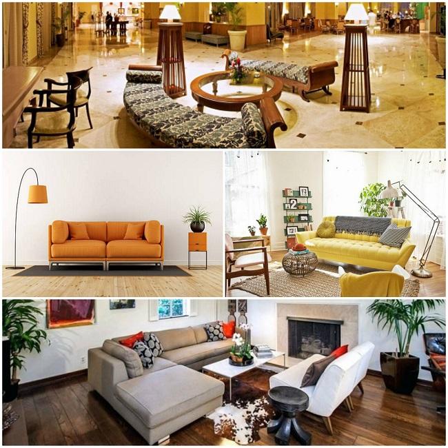 Lựa chọn sofa cho khách sạn, nhà hàng