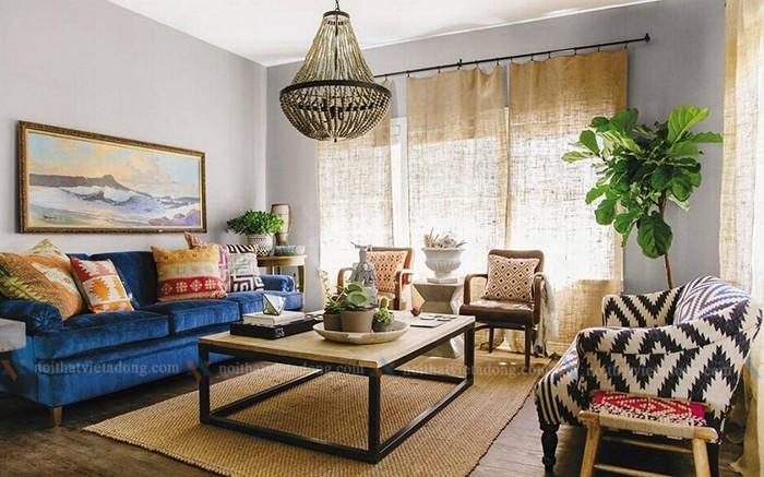 Mang hơi thở retro vào phong cách nội thất nhà bạn