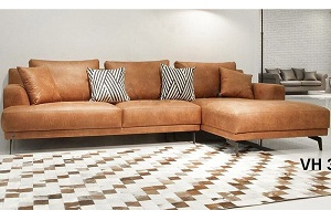 Mẫu sofa da cao cấp D005
