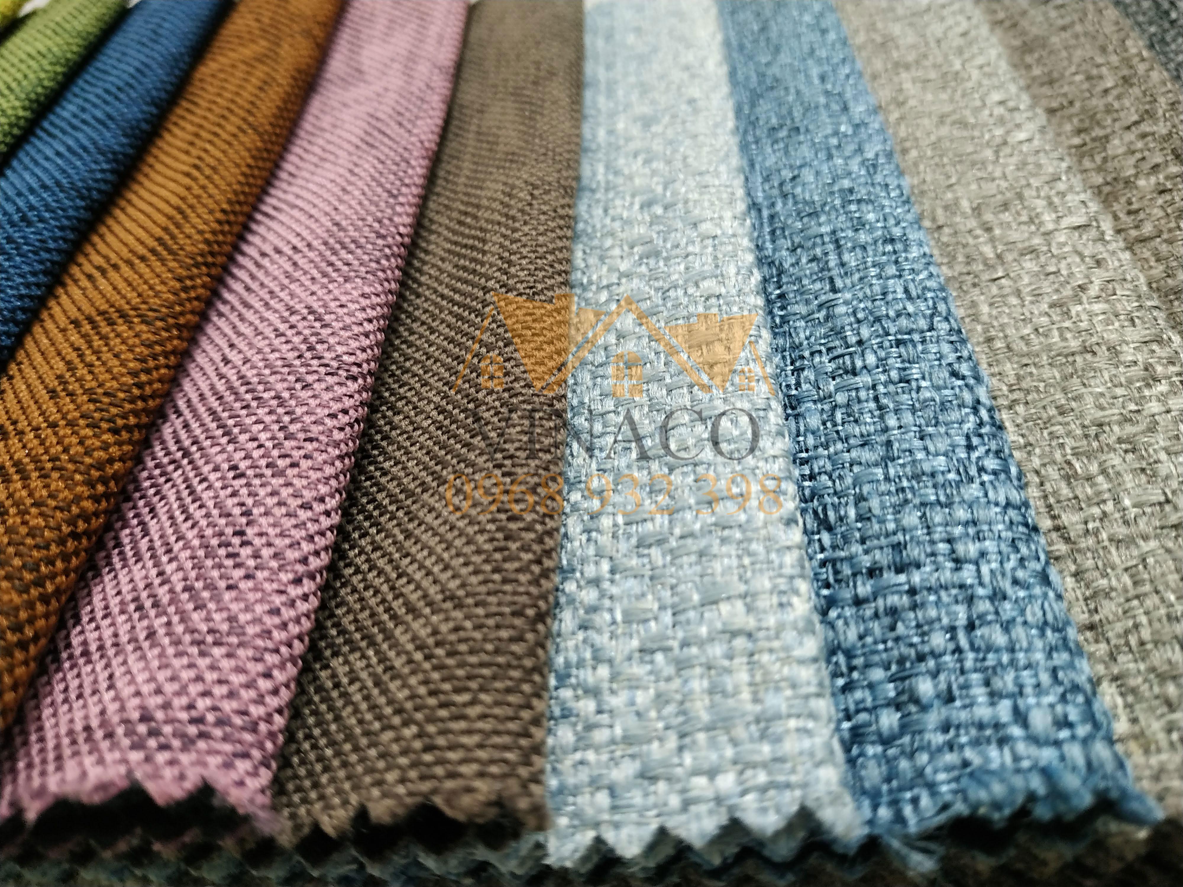 Mẫu vải thô H20 - bọc ghế sofa - làm đệm ghế
