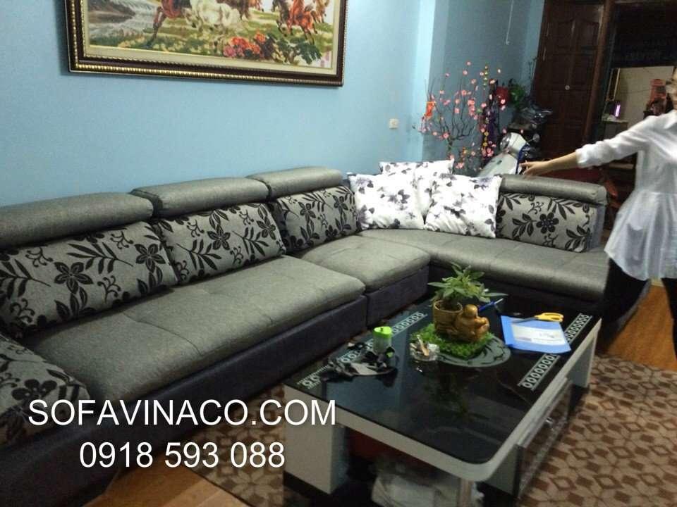 May vỏ đệm ghế sofa Chị Trang- Phan Văn Trường