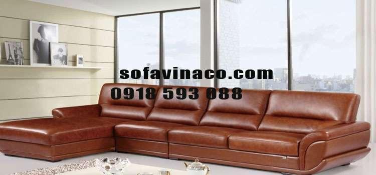 Nhận bọc ghế sofa da bò thật tại Hoàng Quốc Việt