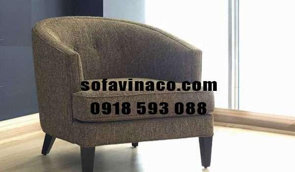 Nhận bọc lại ghế sofa đơn nhỏ cho phòng khách