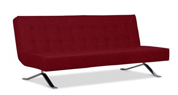 Những kiểu sofa màu đỏ đẹp mắt