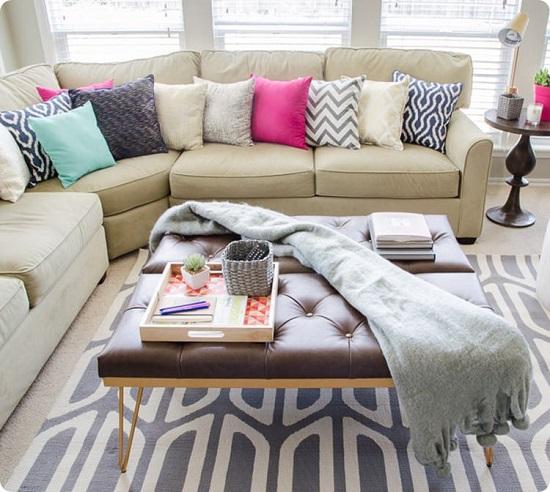 Quy trình thay vỏ đệm sofa và một số cách làm mới sofa tại nhà