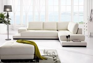 Sofa da cao cấp D003