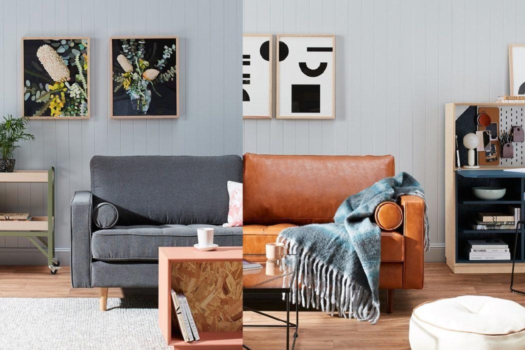 Sofa da hay vải? Làm thế nào để chọn vải bọc phù hợp cho ngôi nhà của bạn?