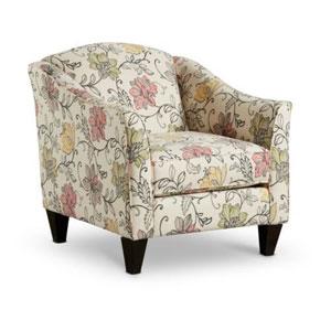 Sofa đơn họa tiết hoa độc đáo