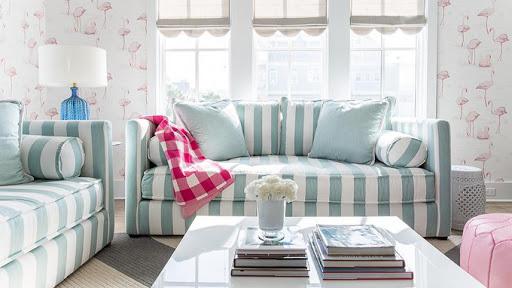 Sofa hoạ tiết cho căn phòng thêm sinh động