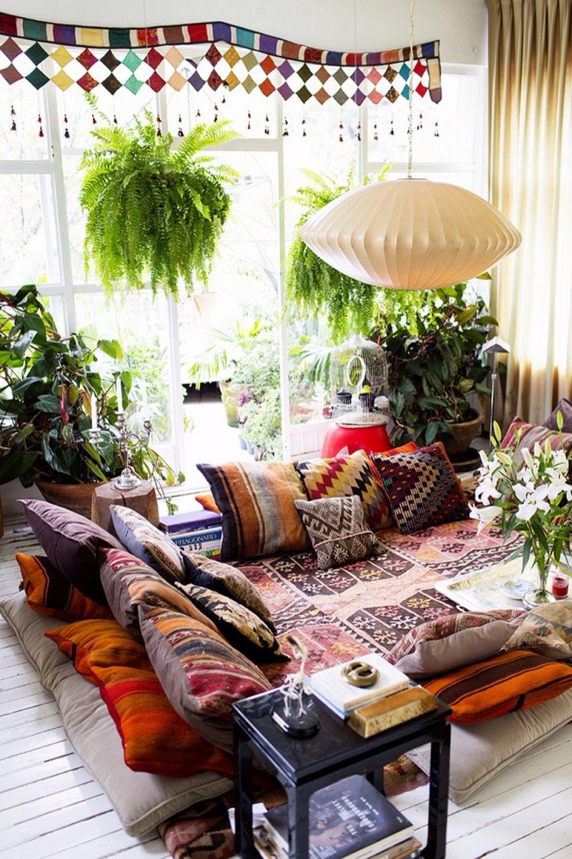 Sofa phong cách bohemian