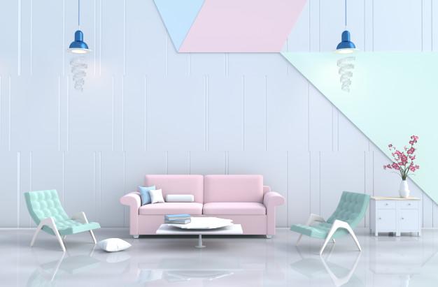 Tại sao không chọn Sofa màu Pastel cho không gian ở thêm lung linh
