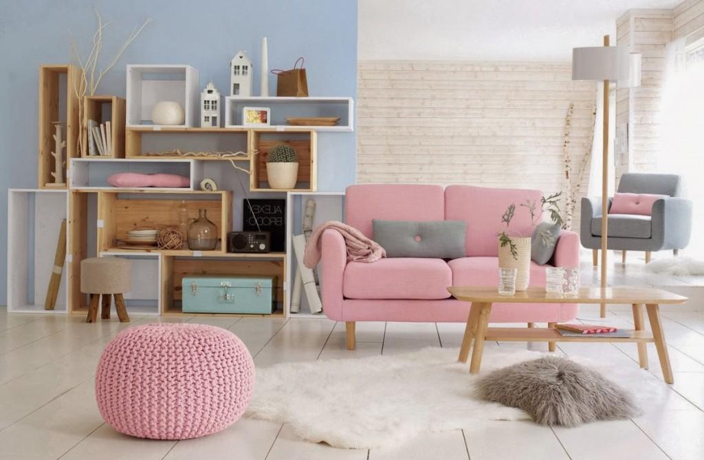Tạo điểm nhấn hoàn hảo với bọc ghế sofa màu hồng