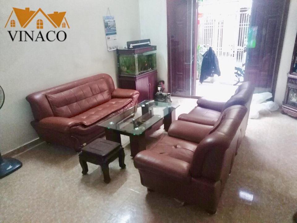 Thay lớp vỏ bọc ghế sofa bị rách nhà cô Hương Phúc Yên - Vĩnh Phúc