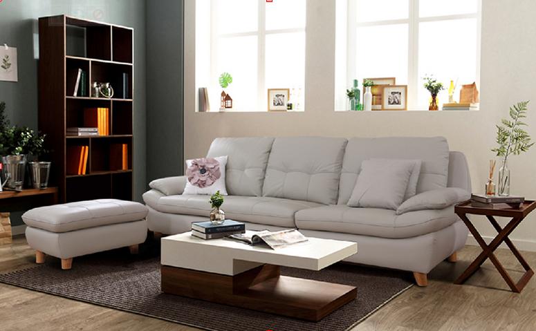 Thiết kế không gian nhà nhỏ cùng với ghế sofa góc
