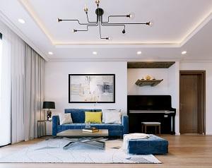 Thiết kế nội thất cho phòng khách đẹpsang trọng