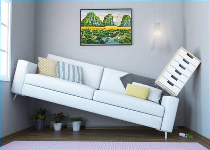 Tổng hợp 3 mẫu bọc ghế sofa đệm gỗ phù hợp cho phòng khách nhỏ