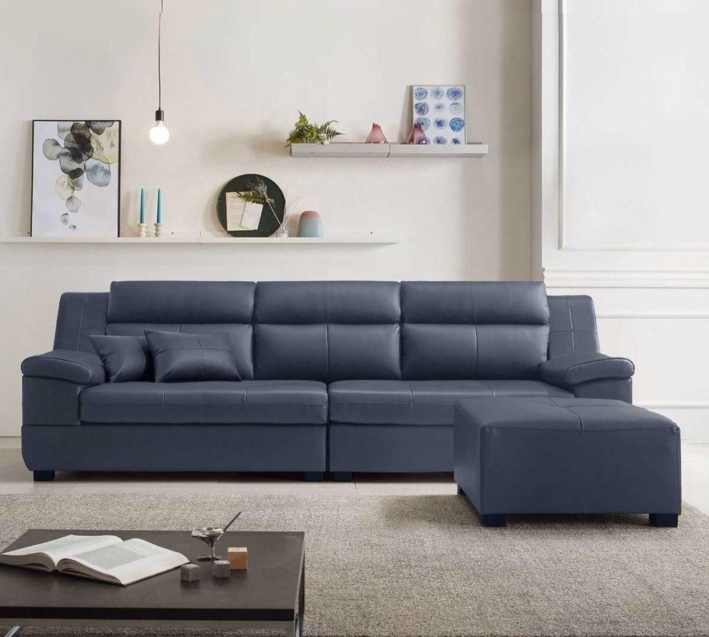 Ưu nhược điểm của chất liệu bọc ghế sofa da và vải nỉ
