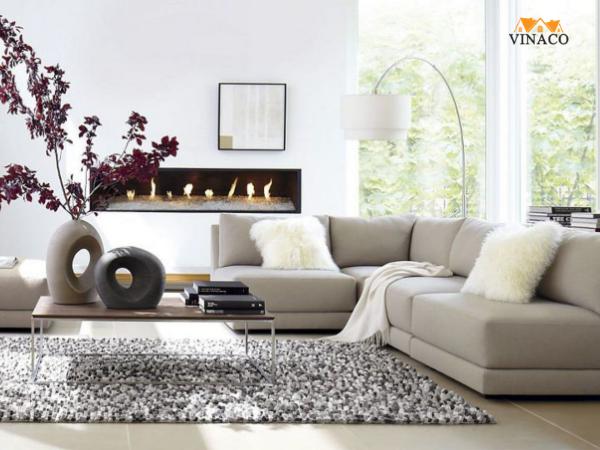 Ý tưởng chọn vải bọc sofa cho mùa hè dễ chịu hơn