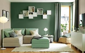 Ý tưởng kết hợp màu sắc phòng khách