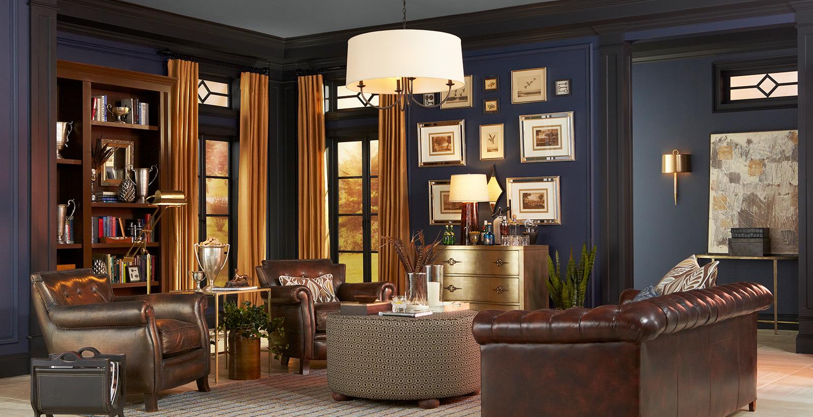 Ý tưởng thiết kế phòng khách phong cách cổ điển